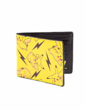 Pokémon Pikachu Allover Bifold Wallet